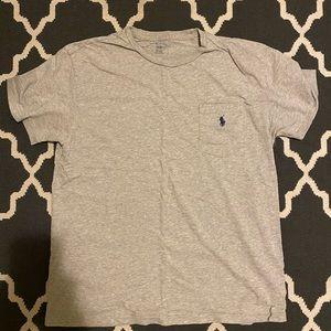 Heather gray Ralph Lauren shirt
